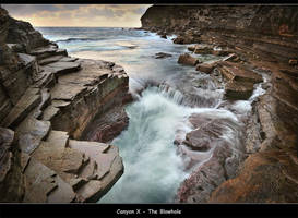 Canyon X - The Blowhole by brentbat