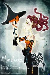 Medusa likes Halloween by Angilram