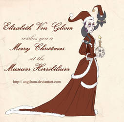 Zaza says Merry Christmas by Angilram