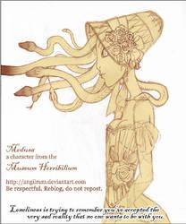 Medusa-loneliness by Angilram