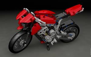 LEGO 8051 Motorbike $1 by sebwouaib