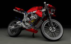 LEGO 8051 Motorbike $2 by sebwouaib