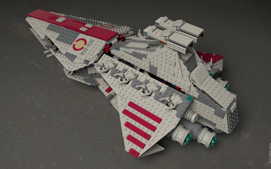 Lego 8039 render $3 by sebwouaib