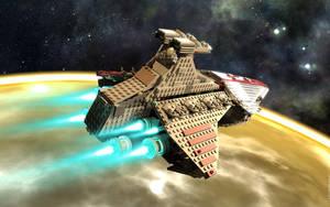 Lego 8039 render $5 by sebwouaib