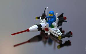 Lego 6824 Space Dart I by sebwouaib