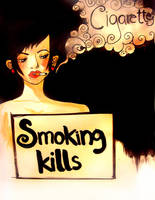 SMOKING KILLS by Lapaka