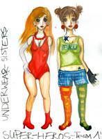Underwear-Sisters by Lapaka
