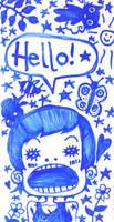 hello, hello by Lapaka