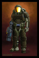 Doom Marine Concept by PeterMan2070