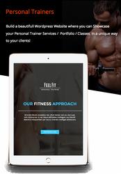 Personal Trainer / Premium Responsive Theme by Alexandra-Ipate