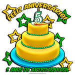 5 ANOS DE ArtistasBRASIL by ShonemZone
