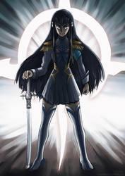 Satsuki Kiryuin by land-walker