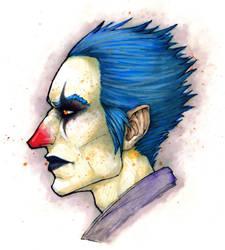 The Clown by PsychoDjinn