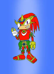 Sonic Fighters: Knuckles the Echidna by Roadkill-Sarny