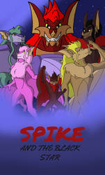Book Cover - Spike and the Black Star by Roadkill-Sarny