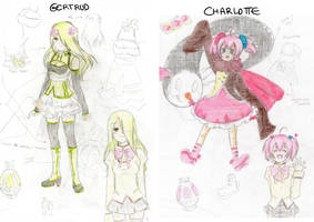 Madoka Witches: Concept Art 1 by meguchan91