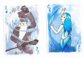 Water cards by Iolka46