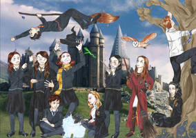 Groupe 2015 : Hogwarts edition by Iolka46