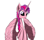A pink Alicorn by Dualtry