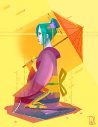 Geisha (2016) by SaPov
