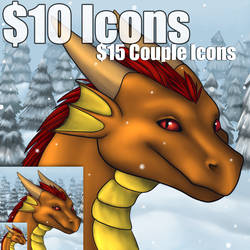 Fall/Winter Icons Available! by DragonnessMekolai