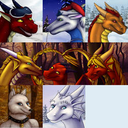 Fall/Winter Icons 2013 by DragonnessMekolai