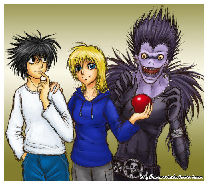 Death Note 8 Bit Ringtone: Kimmy With L And Ryuk By Amarevia On DeviantArt