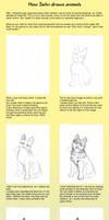 How Szilvi draws animals by Amarevia