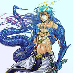 Magi - Dragon King by Amarevia