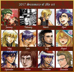 2017 Summary of Art by Amarevia