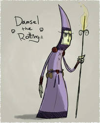 Damsel the Rotting by Scruggs