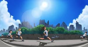 Sunny day marathon by Tseirp