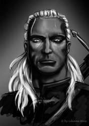 Geralt of Riva - Witcher by Likawei
