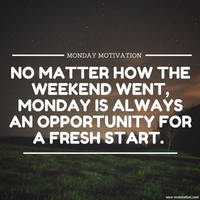 Monday Motivation by secorestoration