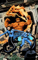 Fantastic Four commission by tofuthebold