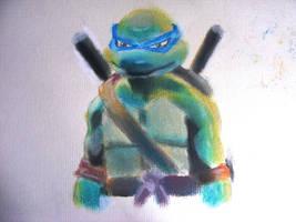Leonardo  TMNT by rorschach-mentality