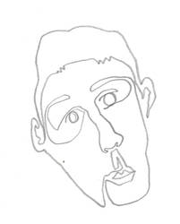 Continuous Line Drawing by johnlacey