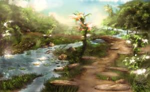 Holy Pond III by tarnvogL