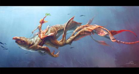 Atlantis Herald by ARTTalkRID