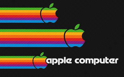 Retro Apple by knightowl9