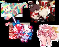 Candy Shop Adoptables closedddd by Alexdream12