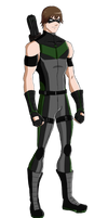 Young Justice OC: HotShot by Sparvely
