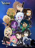 Voltron: Let's Save The Universe! by Sparvely
