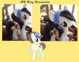 OC Pony Commission by Satokit