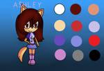 New adoption:Ashley the dog by xXTaylorTeenWolfXx