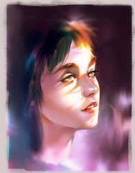 Blind Girl by superschool48