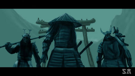 Samurai Sucker Punch by Stadam91