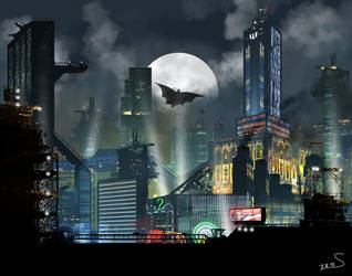 Gotham City by Stadam91