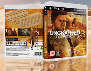 Uncharted 3: DD Box Art by Birdie94jb
