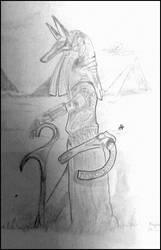 Anubis by MaelikR